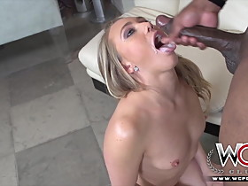 Big ass blonde pornstar gets her pussy drilled by a BBC