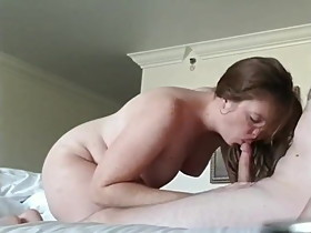 Sexy Exposed 31 Year Old Wife Eagerly Sucking Dick