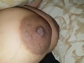 My friend need to big thik cum short on my wife's big boobs...