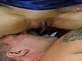 my perverted wife pisses in my mouth